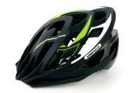 Велошлем VENZO F26M-010 черный/зеленый