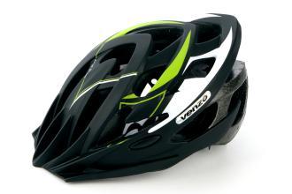 Велошлем VENZO F26M-010 зеленый, M, 53-57 см