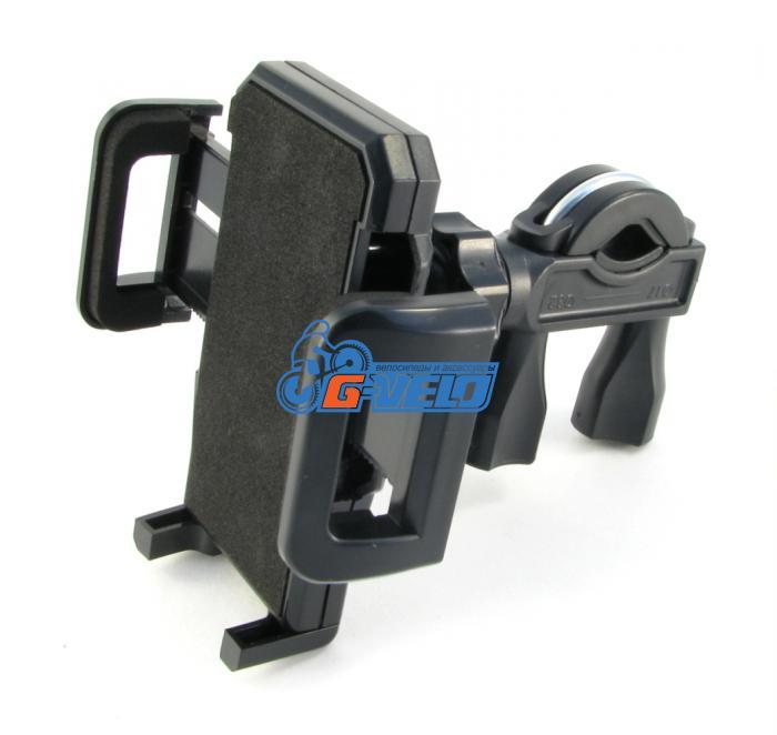 VH-06 Универсальный  держатель для мобильных телефонов с креплением  на  руль. Материал - пластмасса