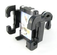 VH-07 Универсальный  держатель для мобильных телефонов с креплением  на  руль. Материал - пластмасса