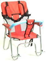 Кресло детское пластик/алюм на багажник 3А