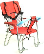 Кресло детское пластик/алюм на багажник DM-ZY/3A красное