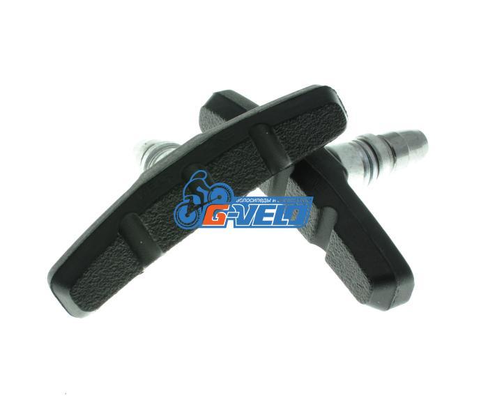 Колодки Vinca sport для V-brake 70мм, VB 970 C black, черные