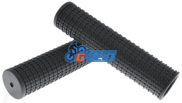 Грипсы резиновые TRIX черные 120 мм HL-G64 120ММ TPR