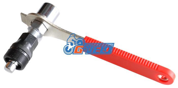 Съемник шатунов+ключ для выжимки шатуна, KENLI, KL-9725L