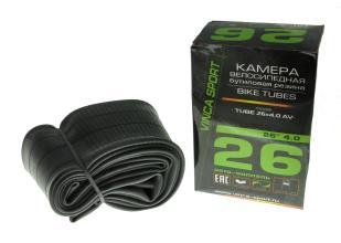 Камера 26 Vinca Sport 26*4.0, автониппель AV, TUBE 26*4.0