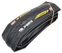 Велопокрышка 700 DURO 700*23C DARK SKINWALL TIRE 120TPI DuroShield 1mm 60A Folding