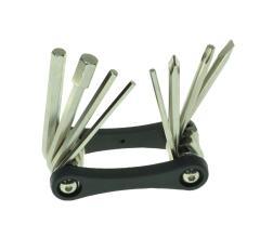 Ключи шестигранные в наборе 2/2.5/3/4/5/6/8 мм, KL-9833С