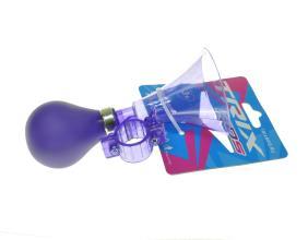 Клаксон пластик, резиновая груша, фиолетовый, XN-8-18
