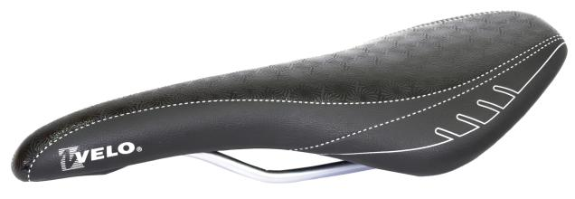 Седло Velo VL-1296, 270 мм, 125 мм, Рамки, MTB черный
