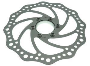 Ротор Artek DR005 для дискового тормоза 160мм, с адаптером, резьба
