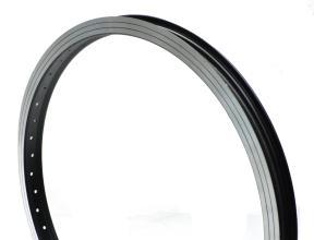 Обод 20 TRIX алюминиевый ВМХ 48 спиц, черный