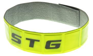 Браслет светоотражающий STG 43444-Y желтый