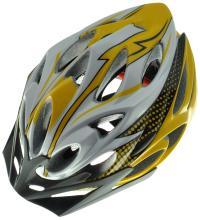 Велошлем регулируемый N-MOLD J-B036-L 29 отверстий, 290гр, съёмный козырёк