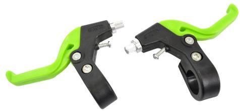 Тормозные ручки Vinca Sport, детские (пара), материал пластик/алюм, зеленые VB 61 green
