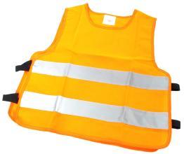 Светоотражающий защитный жилет для детей Vinca Sport, оранжевый, KV 106