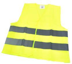 Светоотражающий защитный жилет для детей Vinca Sport, желтый, KV 105