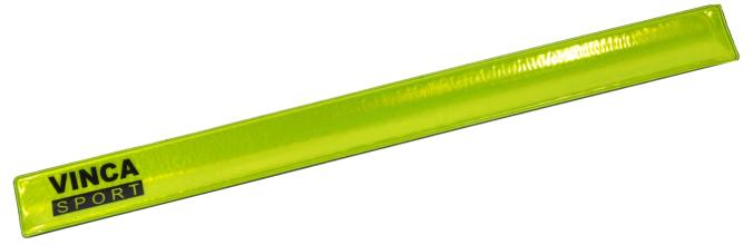 Vinca Sport, Светоотражающий браслет 30*330мм желтый, RA 101-1