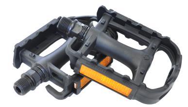 Педали WELLGO M113, MTB, пластиковые с отверстиями для туплекса MT-19, 103,5 х 78 x 25,5 мм, 238 г