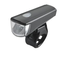 Фара передняя Vinca Sport, 1 диод, 1Вт, силиконовое крепление, с батарейками, 2 реж.работы, VL 7036
