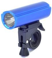 X-light, Фара передняя, алюминий, 1 диод, 1 Ватт, синий корпус, XC-983