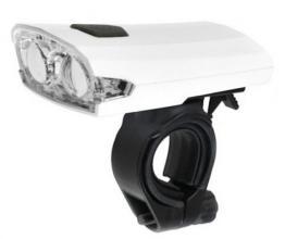 X-light, Передняя фара XC-122, белая, USB шнур, аккум. 3,7V, 300mAh