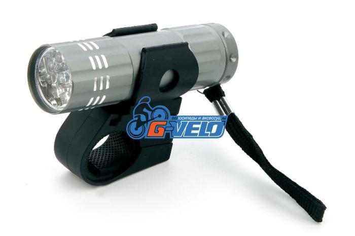 X-light, Фара передняя, 9 диодов, алюминий, XC-725