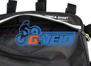 Велосумка под раму, Vinca Sport, 420х230х65мм, два кармана внутри, два снаружи, FB-05-4