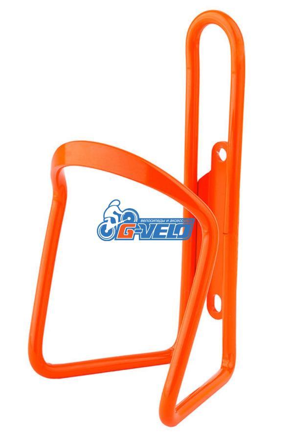 Флягодержатель алюминиевый Vinca Sport, в комплекте с болтами, оранжевый HC 11 orange