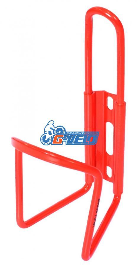 Флягодержатель алюминиевый Vinca Sport, красный, HC 10 red