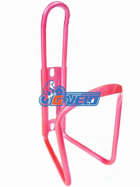 Флягодержатель алюминиевый Vinca Sport, розовый, HC 10 pink