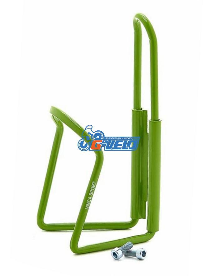 Флягодержатель алюминиевый Vinca Sport, зеленый, HC 10 green