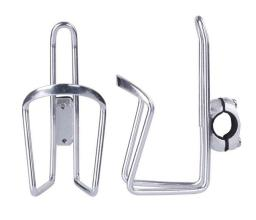 Флягодержатель на руль, Vinca Sport, алюминиевый, серебристый, HC 14 silver