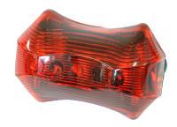 Фонарь STG задний JY-262T, 3 светодиода, 3 функции, ААА*2 (в комплекте)Х66180