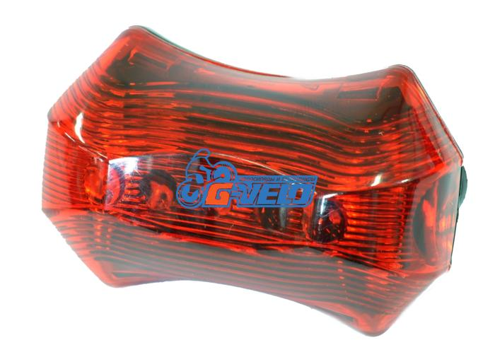 Фонарь STG, JY-262T, задний 3 светодиода, 3 функции