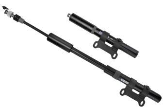 Велонасос GIYO GP-86 mini pump ручной, алюм. корпус, резиновый шланг, Presta/Schrader, черный