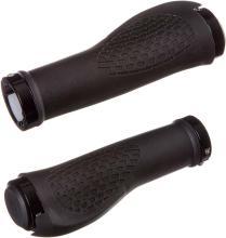 Грипсы STG резиновые JT-G6188, 130 мм, черные, комфортные, с крепежом