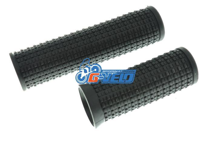 Vinca Sport, Грипсы пара длиной 75 и110мм, черные, H-G 33 black