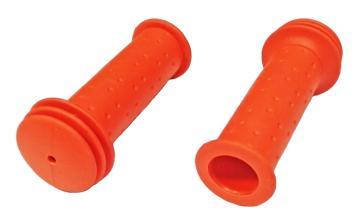 Грипсы TRIX для детских велосипедов 102 мм, упор, красные, HL-G96 red