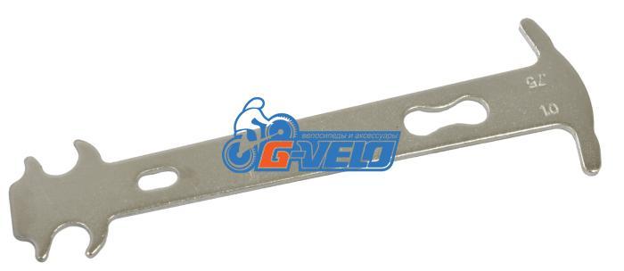 Ключ - шаблон, измеритель износа цепи, KENLI KL-9724Z