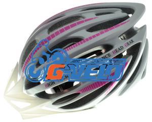 Велошлем регулируемый N-MOLD J-B024-L 25 отверстий, 270гр, съёмный козырёк