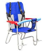 Кресло детское JL-190 велосипедное на багажник, синее