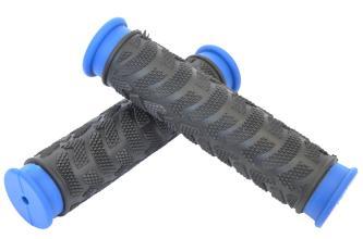 Грипсы резиновые Joykie черно-синие L=125мм, JK-1962