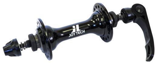 Втулка передняя JoyTech A171RCC 32H черная, шоссе, с эксцентриком
