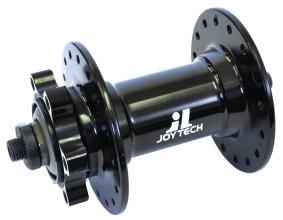 Втулка передняя JoyTech D341RCC 32H под диск, черная, с эксцентриком