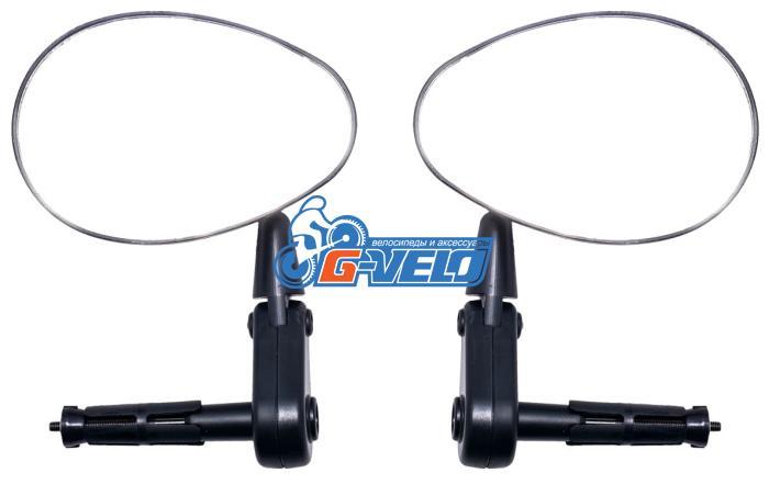 Зеркала с торцевым креплением, JING YI, левое и правое, комплект, JY-9