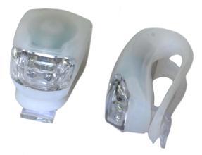 X-light, К-т мини фар белый 2 диода XC-108 мягкое крепление