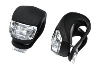 X-light, К-т мини фар черный 2 диода XC-108 мягкое крепление