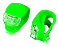 X-light, К-т мини фар зеленый 2 диода XC-108 мягкое крепление