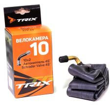 Камера 10 TRIX 10*2,0 гнутый автониппель AV 45°, бутил, TR87